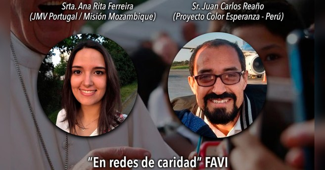 Conectados con Dios: testimonios de Ana Rita Ferreira (Mozambique) y Juan Carlos Reaño Paiss (Perú)