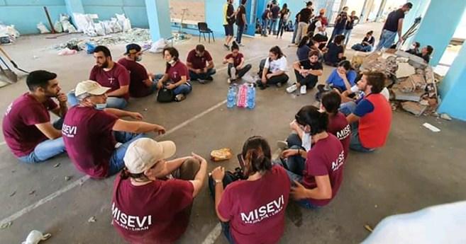 La Familia Vicenciana está ayudando desde el día después de la explosión en Beirut