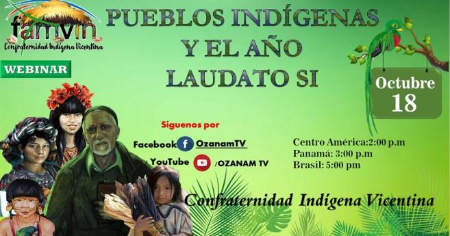 Webinar «Pueblos indígenas y el año de Laudato Si»