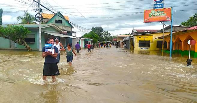 El huracán ETA genera una gran ola de solidaridad a favor de Honduras