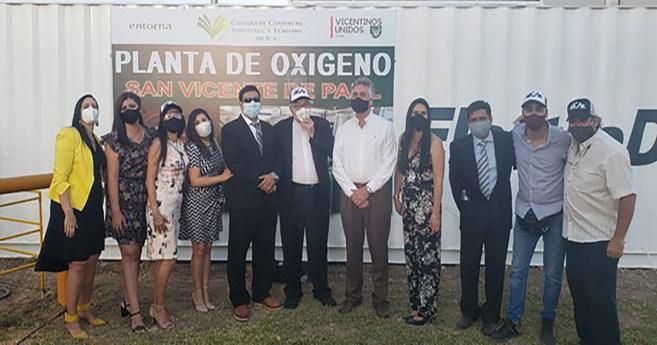 Planta de oxígeno en Ica (Perú), para ayudar a los enfermos