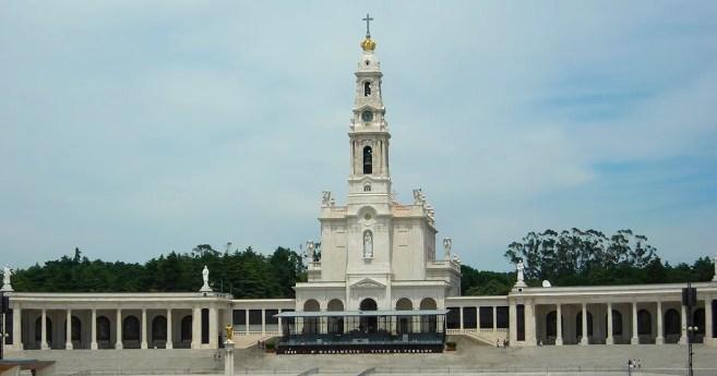La imagen de san Vicente de Paúl está en el Santuario de Fátima, en Portugal