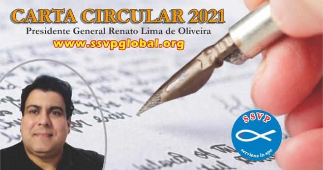 Carta Circular 2021 del Presidente General de la Sociedad de San Vicente de Paúl