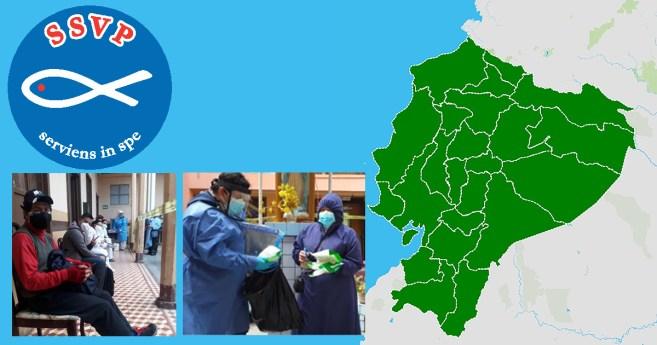 Los vicentinos de Ecuador luchan contra la pandemia