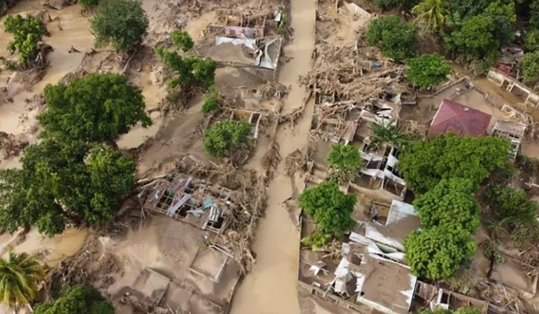 Auxilio a damnificados en Nicaragua por los Huracanes Eta e Iota