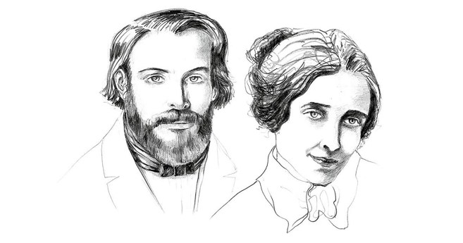 Hoy celebramos el 180 aniversario de la boda de Federico Ozanam y Amelia Soulacroix