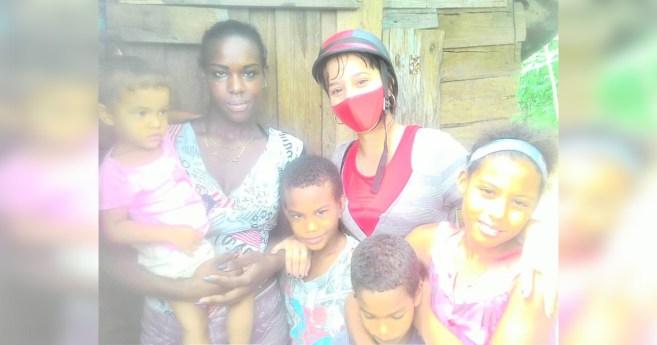 El auxilio a los niños necesitados continúa en Cuba a pesar de la Covid