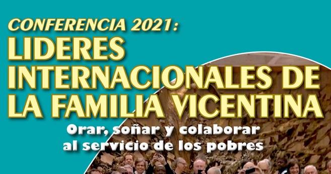 Encuentro virtual de líderes de la Familia Vicenciana, el 16 y 17 de septiembre