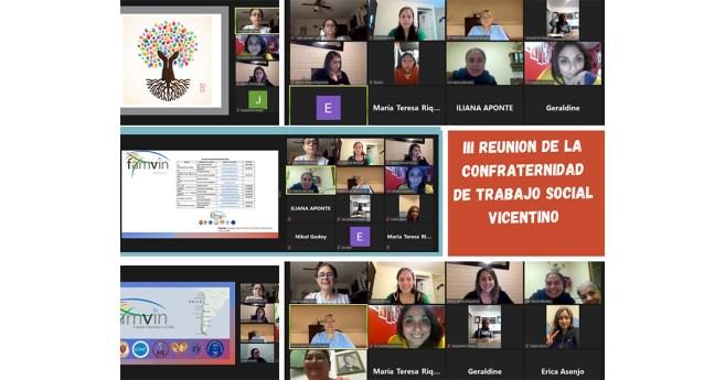 Invitación desde la Confraternidad de Trabajadores Sociales Vicentina