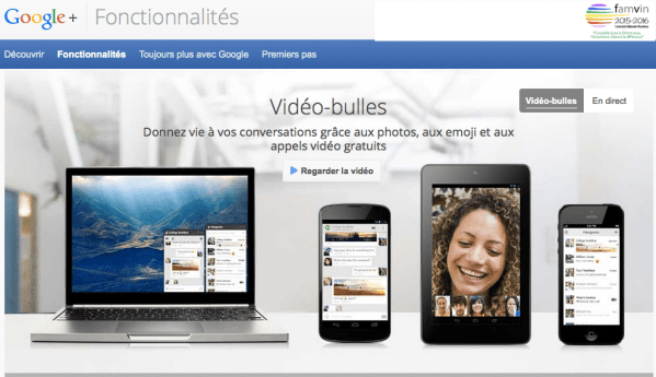 Collaborer avec Google Hangouts
