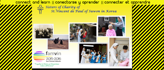 Connecter et apprendre : Sœurs de la Charité de Saint Vincent de Paul à Suwon Corée