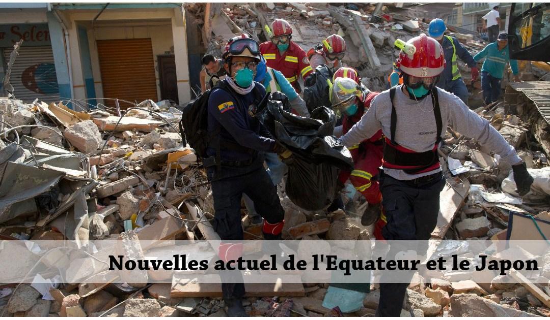 Nouvelles de la Famille dans les zones touchées par les récents tremblements de terre