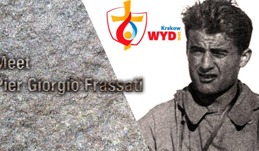 La présence des reliques du Bienheureux Pierre Georges Frassati aux JMJ