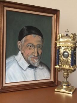 Pèlerinage du Cœur de Saint Vincent de Paul à Folleville
