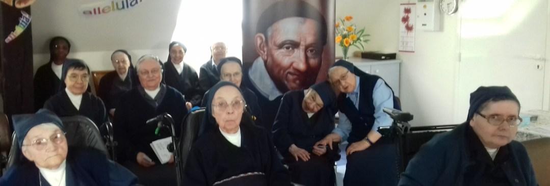 """Relique du cœur de St Vincent dans la Communauté """"St Joseph"""" (Sœurs aînées) de la Maison-Mère"""