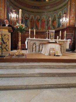 Visite du Cœur de Saint Vincent à Versailles
