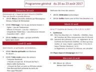 Programme général