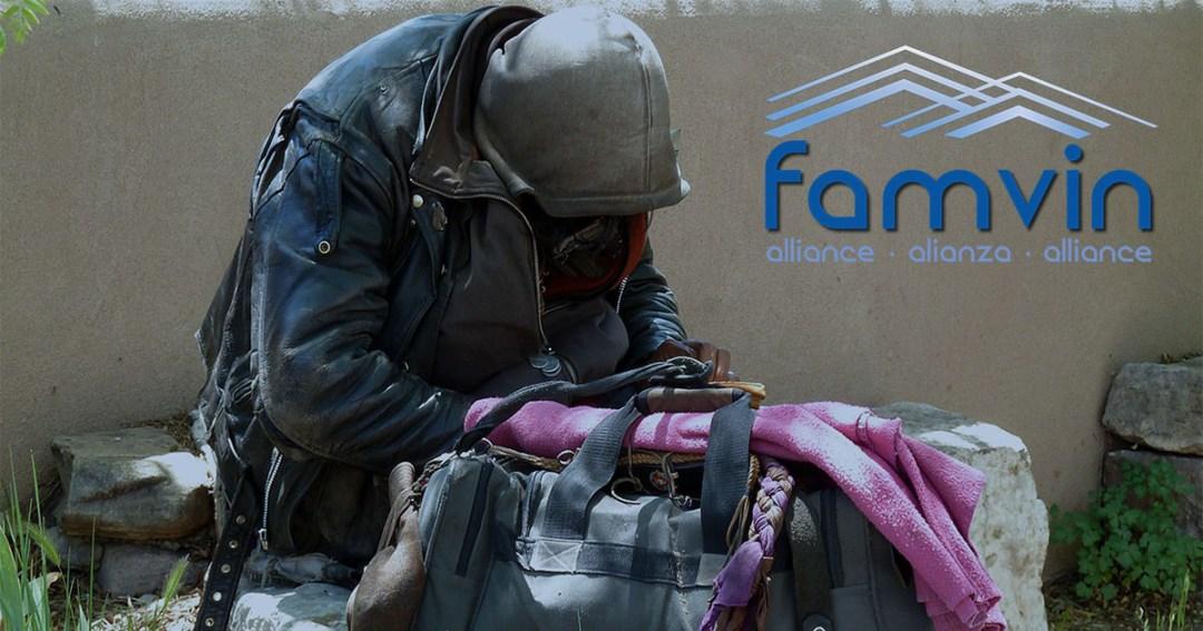 Annonce de l'Alliance Famvin avec les personnes sans-abris