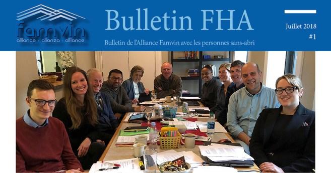 Nouveau Bulletin de l'Alliance Famvin avec les personnes sans-abri