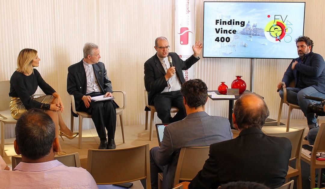 """""""Trouver Vince 400"""" – Conférence de Presse, Festival International du Film de Venise"""