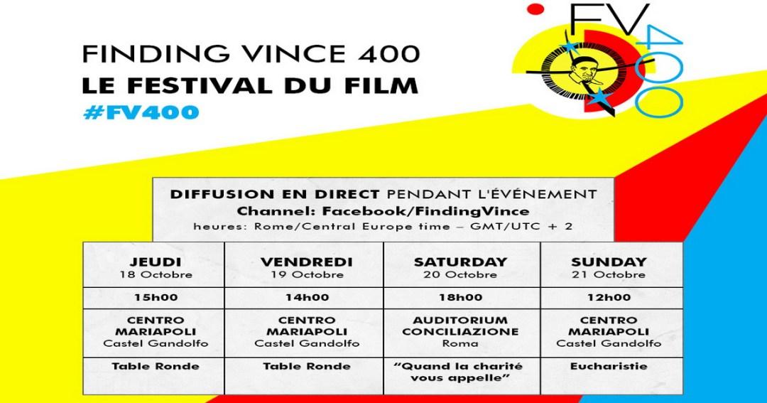 """Finding Vince 400"" sera diffusé en streaming sur Facebook"