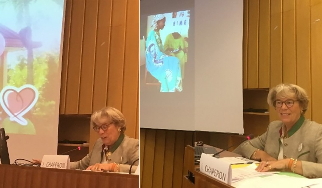 L'AIC participe à la Journée Internationale de la Fille, célébrée à l'UNESCO par les ONG