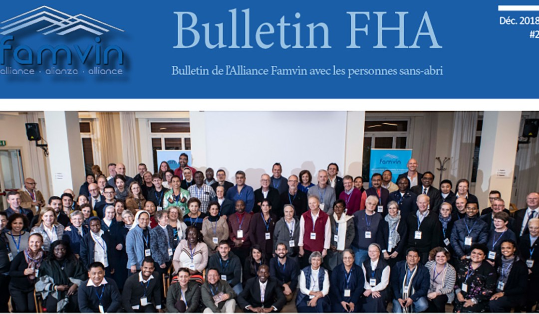 Bulletin n ° 2 de l'Alliance Famvin avec les sans-abri