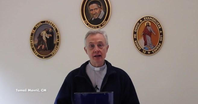 Message de Pâques du P. Tomaž Mavrič, CM, Président du Comité Exécutif de la Famille Vincentienne