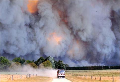 Incendies de brousse en Australie. Le visage du changement climatique