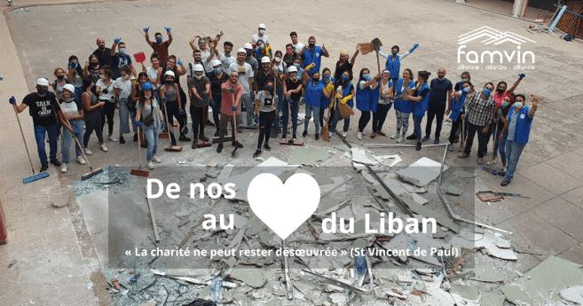 La Famille Vincentienne organise une collecte de fonds pour arriver au #CœurduLiban