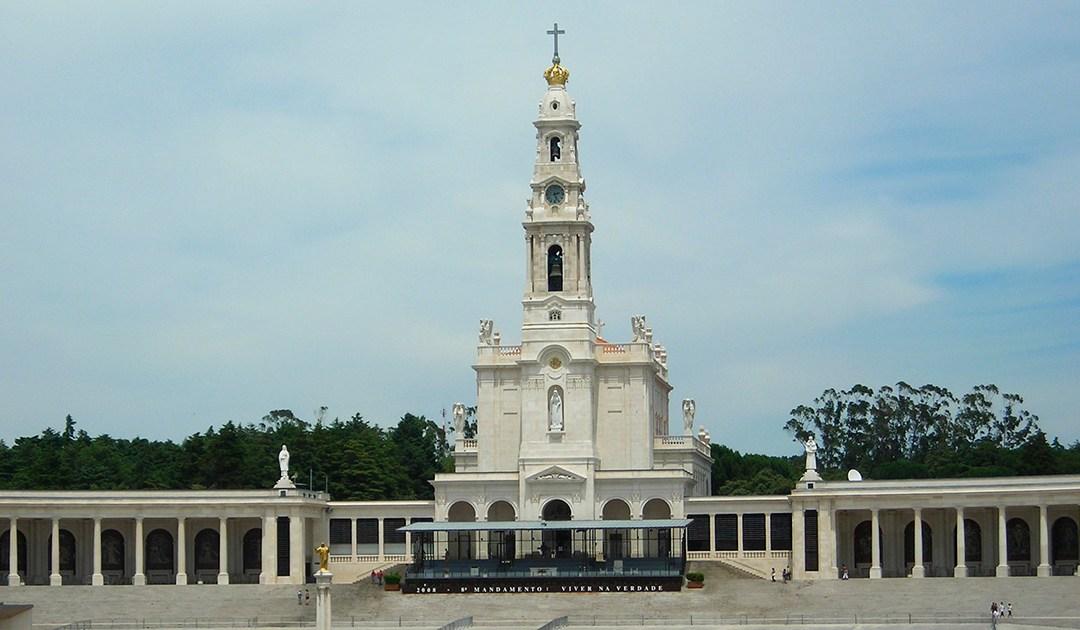 La statue de Saint Vincent, au Sanctuaire de Notre-Dame de Fatima (Portugal)