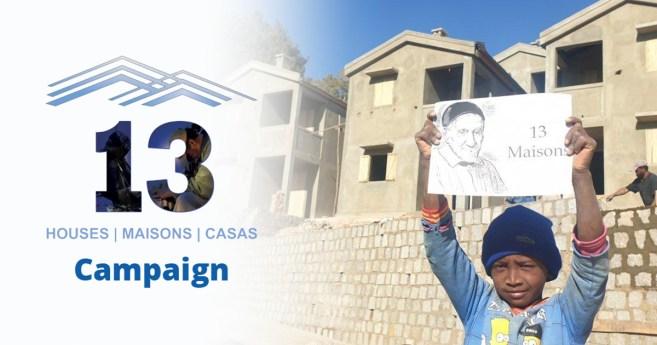 Plus de 70 personnes participent au premier webinaire sur la Campagne « 13 Maisons »