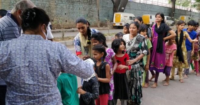 AIC International fournit de l'aide en Inde
