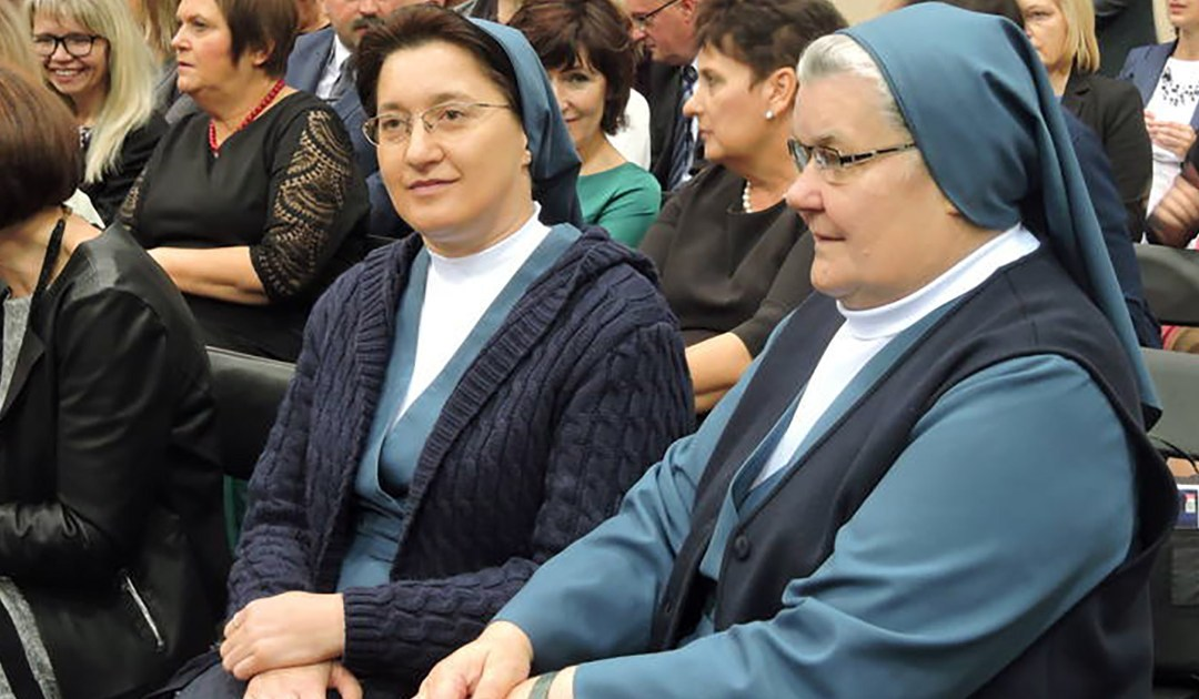 Premio della Croce di bronzo al merito per una Figlia della Carità in Polonia