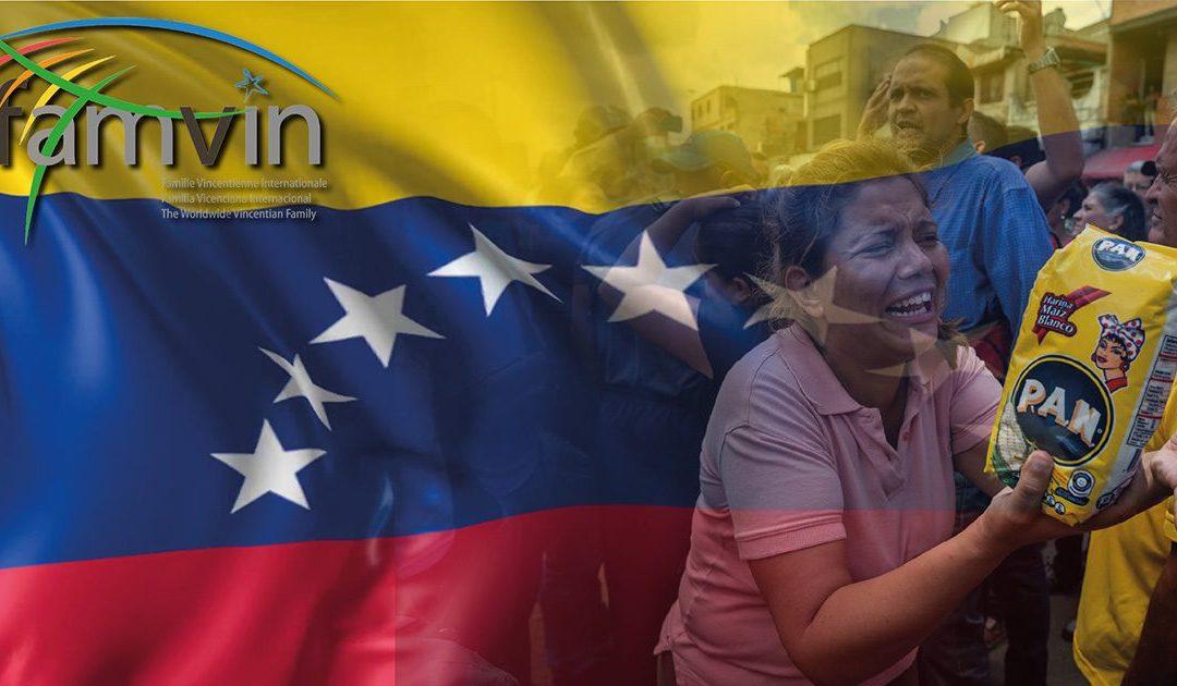 Dichiarazione della Famiglia Vincenziana in Solidarietà con il Popolo del Venezuela