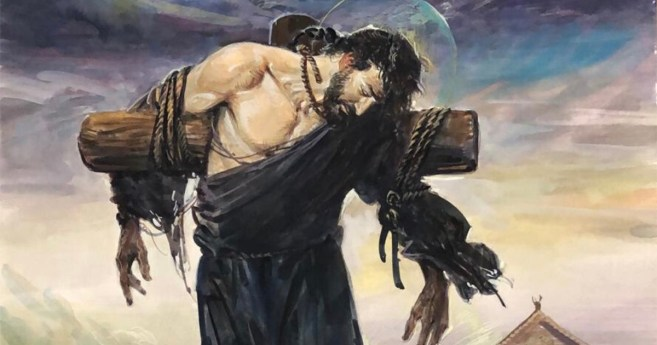 Il primo Santo della Cina fu martirizzato su una croce a Wuhan