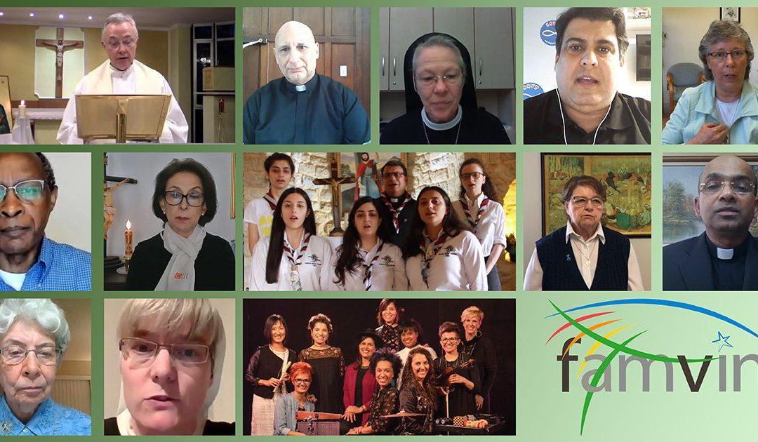 La preghiera di tutta la Famiglia Vincenziana il 12 luglio