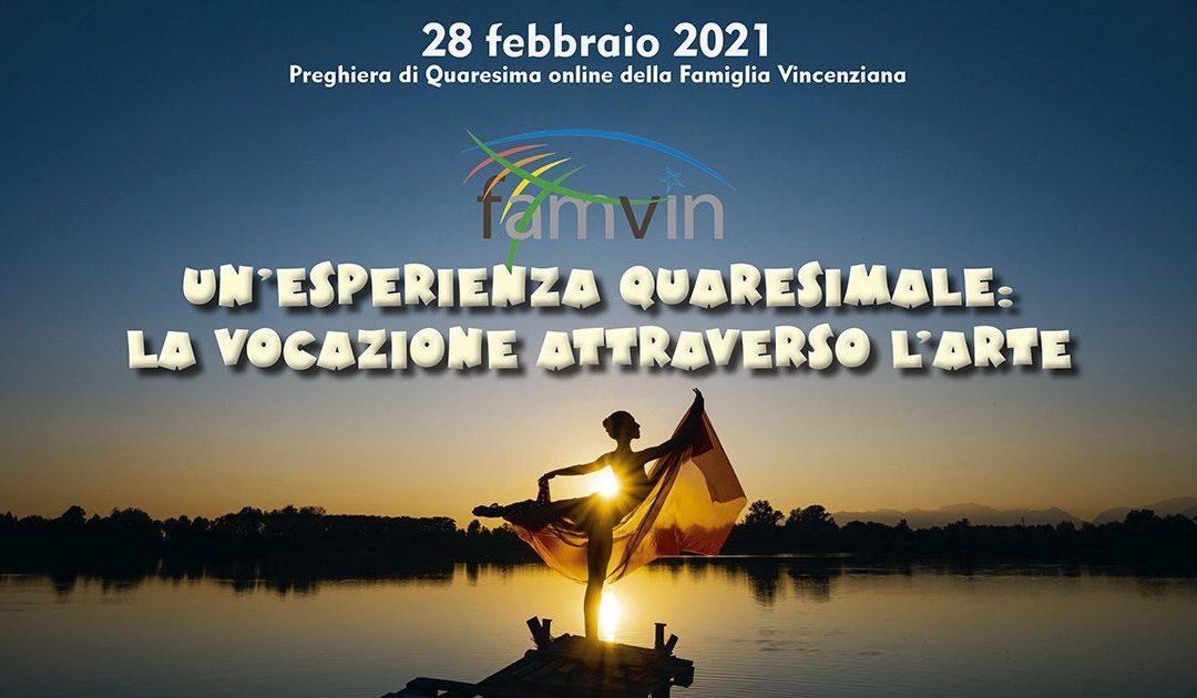 Rivivi la Preghiera di Quaresima della Famiglia Vincenziana, 2021