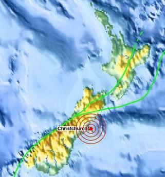 Trzęsienie ziemi w Nowej Zelandii i Rodzina Wincentyńska