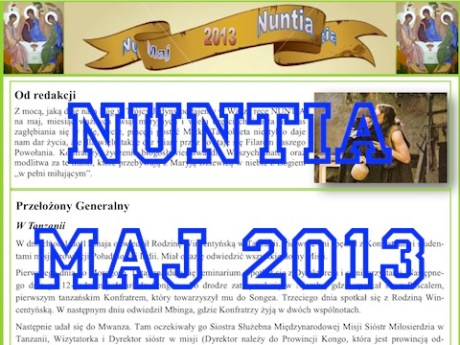 NUNTIA – maj 2013