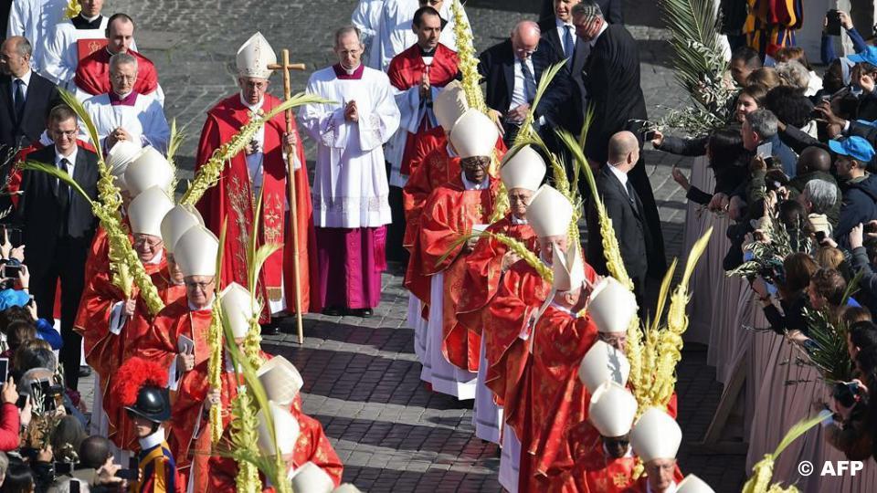 Papież Franciszek: homilia w Niedzielę Palmową