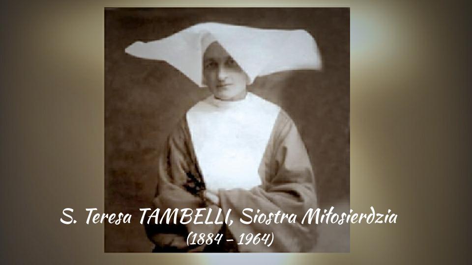 """Siostra Teresa Tambelli SM, Anioł """"Marianelli"""" na drodze do świętości"""