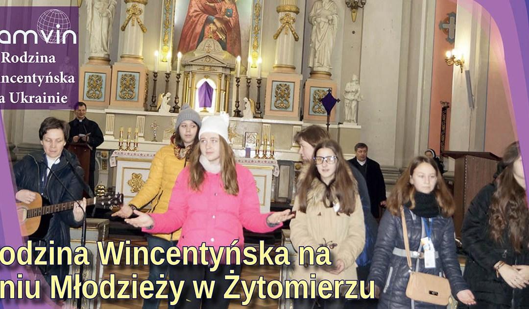 Rodzina Wincentyńska na Dniu Młodzieży w Żytomierzu