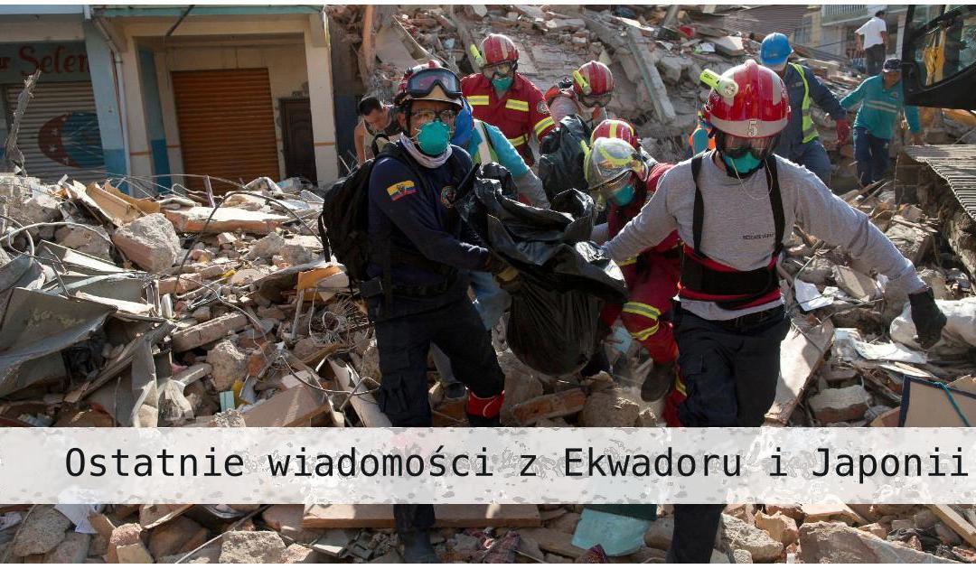 Wiadomości o Rodzinie Wincentyńskiej z terenów objętych trzęsieniami ziemi