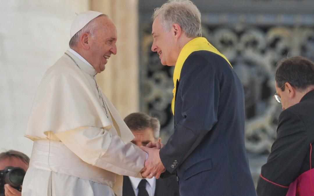 Spotkanie z Papieżem Franciszkiem w trakcie Sympozjum – powitanie przez Przełożonego Generalnego [tekst]