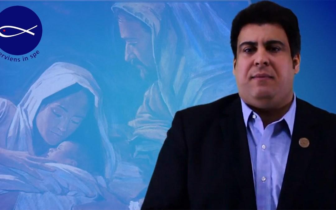 Przesłanie Bożonarodzeniowe od Renato Lima de Oliveira, Prezydenta SSVP
