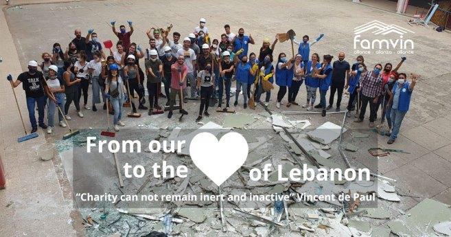 Rodzina Wincentyńska organizuje zbiórkę funduszy na rzecz #SerceLibanu #HeartofLebanon