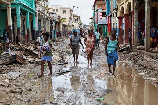 Filha da Caridade que mora no Haiti relata estragos do furacão Matthew