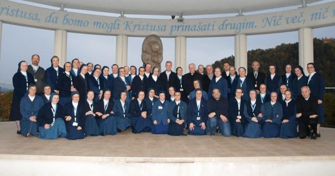 Encontro dos conselhos provinciais das Províncias Eslavas das Filhas da Caridade em Celje, Eslovênia
