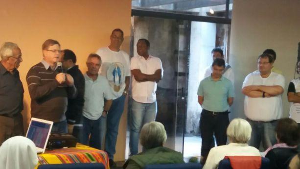 Celebração dos 400 anos do Carisma Vicentino no Caraça – MG (Brasil) 2017